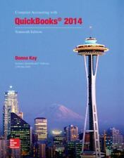 Computer Accounting with QuickBooks 2014 by Donna Kay, 2 CD-ROMS