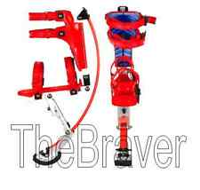 Jumping Stilts spring stilts for kid load range 88-132LBS gift christmas RED