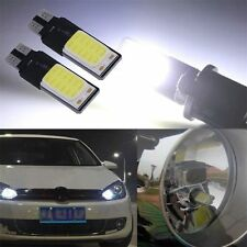 2x T10 194 501 W5W SMD COB LED High Power Car Auto Wedge Lights