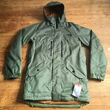 NEW The North Face SHERMAN INSULATED Jacket Ski Snow Scallion Green Men's Medium