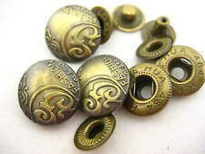 3*S1 antique ring snap button Decoration snap fasteners for bag clothes supplies