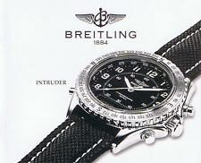 BREITLING INTRUDER ANLEITUNG INSTRUCTIONS I001