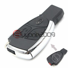 Modified Smart 3 Button Remote Key Shell Case for Mercedes-Benz CLS C E S Fob