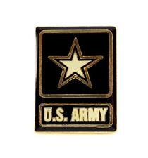 Wholesale Lot of 12 Army Insignia With Star Lapel Hat Pin Military Gift PPM650
