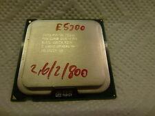 Intel Pentium DualCore Processor E5300 2,6 GHz, 2MB Cache, 800 MHz FSB SLGTL
