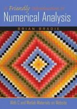 A Friendly Introduction to Numerical Analysis., Bradie, Brian, Acceptable Book