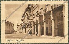 PAVIA VOGHERA 86 ASSICURAZIONI GENERALI Cartolina viaggiata 1946