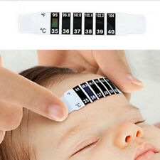 10pcs Baby Thermometer Reusable Flexible Forehead Care Health Monitors Gift New