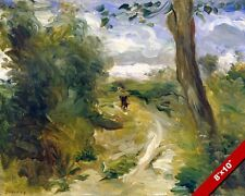 RENOIR LANDSCAPE FRA STORMS FRENCH ARTIST PAINTING ART REAL CANVAS GICLEE PRINT