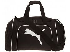 PUMA TEAMCAT MEDIUM SIZE HOLDALL BACK TO SCHOOL COLLEGE SPORTS BAG GYM HARD BASE