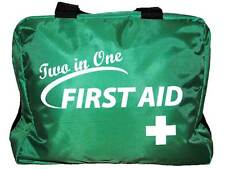 Two in One First Aid Bag (UNKITTED) for Sports, Ambulance, Business, Car, Travel