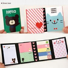 Bloc-Note Autocollant Mémo Page Label Message Bookmark Livre Papier Sticker
