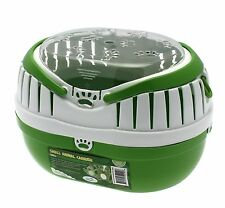 Happy Pet Animal Carrier Green Large Size - hamsters, gerbils, mice, reptiles