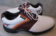 FootJoy Myjoys Custom Virginia Tech Golf Shoes 54230 7.5M NEW