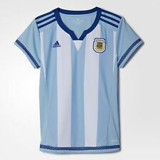 Adidas Women's Argentina Home Soccer Jersey 2015 World Cup Save 50%!!  Large
