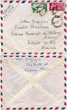 019 - Repubblica - Espresso su busta via aerea da Modena a Rio de Janeiro, 1962