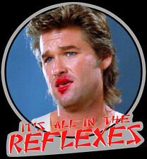 "80's Classic Big Trouble in Little China ""It's All in the Reflexes"" custom tee"