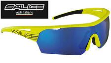 SALICE 006 RW YELLOW frame / BLUE iridium lens sunglasses NEW Lampre Merida