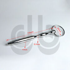 Stainless Steel Urethral Sound -Dilator CBT Plug Tube Catheter Penis Ring FF622