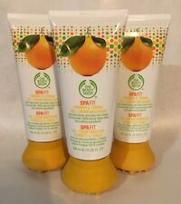 The Body Shop Spa Fit Firming & Toning Gel-Cream Massager 6.75 Oz. X3. New.