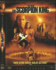 The Scorpion King (DVD Movie, 2002) Dwayne Johnson, Steven Brand, Kelly Hu