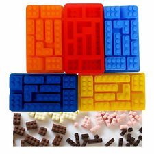 Mini-figure Building Brick Silicone Ice Tray Candy Chocolate Mold For Lego Lover