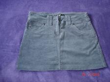 mini jupe grise en velours cotelé Taille 34 MIM