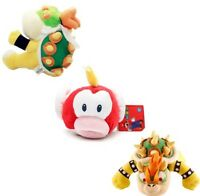 3pcs Super Mario Bros King Bowser Koopa and Jr Koopa X'mas Plush Toy Figure