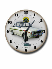 "LOTUS CORTINA 250MM/10"" DIAMETER METAL WALL CLOCK,GARAGE CLOCK.WORKSHOP CLOCK"