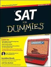 NEW - SAT For Dummies, with CD by Woods, Geraldine