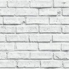 WHITE BRICK WALLPAPER - ARTHOUSE VIP 623004 - NEW