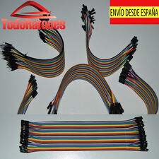 10x  hembra a hembra Jumper Cable electronica robotica arduino 20cm 2,54 soldar