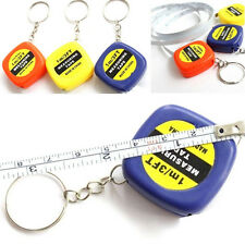 Easy Keychain Retractable Ruler Tape Measure Small Portable Pull Ruler 1pc JCAU