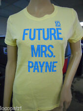 Womens Juniors One Direction 1D Future Mrs. Payne Liam Shirt New M