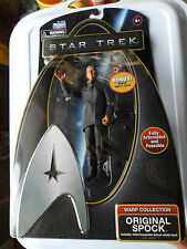 STAR TREK ORIGINAL SPOCK 6 '' FIGURE WARP COLLECTION + SWITCHABLE VULCAN SALUTE
