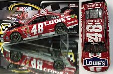 JIMMIE JOHNSON 2014 LOWE'S RED VEST TEXAS RACED WIN 1/24 SCALE ACTION DIECAST