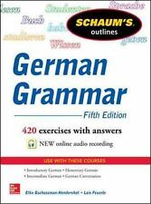 Schaum's Outline of German Grammar, 5th Edition Schaum's Outlines