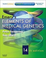 Emery's Elements of Medical Genetics: With STUDENT CONSULT Online Access, 14e T