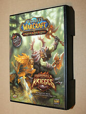World of Warcraft tambores de guerra Trading Card Game
