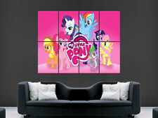 MY LITTLE PONY GIANT POSTER WALL ART PICTURE PRINT GRANDE ENORME ""
