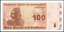 Zimbabwe - 100 Dollars 2009 - P 97 Uncirculated Banknotes