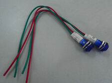 12PCS,Blue Led Power ON/OFF Pilot Indicator Light 3V 6V 9V 12V,10B vc