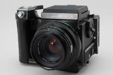 [NEAR MINT] ZENZA BRONICA ETRSi W/ ZENZANON MC 75mm F/2.8 From Japan #090