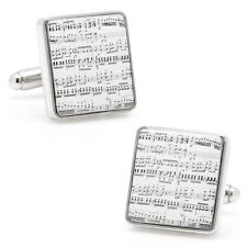 Classical Sheet Music Cufflinks Cuff links Piano Symphony Orchestra Band Teacher