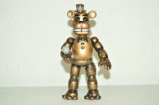 TOY MEXICAN FIGURE JUMBO FREDDY GOLDEN FIVE NIGHTS AT FREDDY'S ANIMATRONICS 8IN