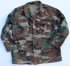 (13) TURKEY TURKISH ARMY LONG SLEEVED COMBAT SHIRT in WOODLAND CAMO