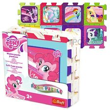 Trefl 8 Piece Baby Kids Infant Girls Soft Foam Mat My Little Pony Jigsaw Puzzle
