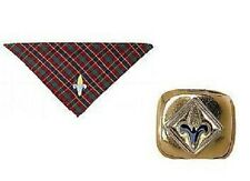 """Cub Scout WEBELOS NECKERCHIEF & SLIDE - BSA Official """"NEW"""" with tags"""
