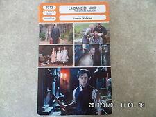 CARTE FICHE CINEMA 2012 LA DAME EN NOIR Daniel radcliffe Ciaran Hinds