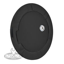 NEW Flat Black Locking Gas Fuel Door / FOR CHEVROLET C/K TRUCK 1988-1999
